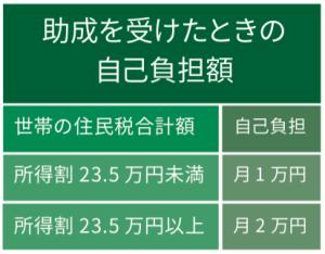 医療費助成:東京以外共通